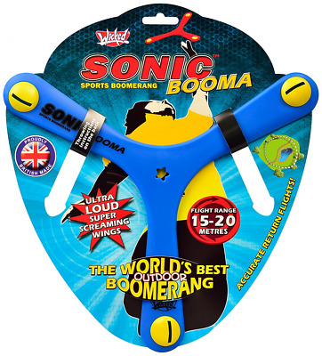 Outdoor Toy For Kids Boomerang 15-20 Metre Return Flight Plastic Throw Catch Fun
