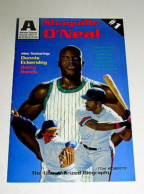 Shaquille O'neal & Barry Bonds Comic #1