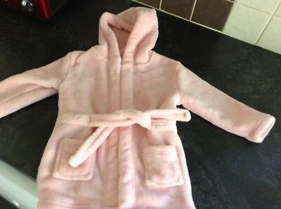 baby girls dressing gown age 6-12 months