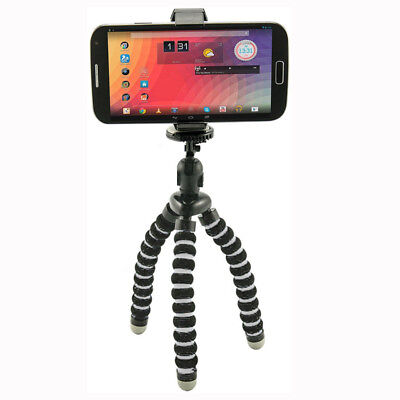 Flexible Tripod Stand for iPhone Smartphone Digital Camera with Universal Clip