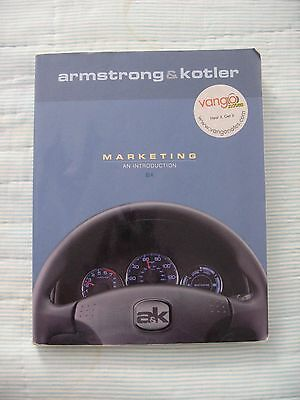 Paperback Book ~ Marketing An Introduction 8E By Armstrong & Kotler ~ College