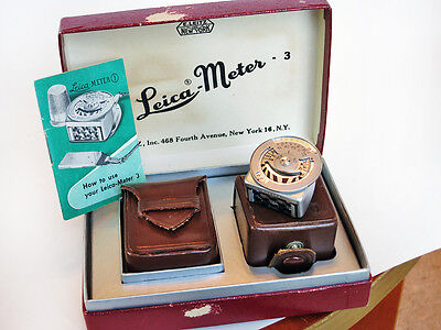Leica- Meter 3 METTNC Complete in the Box