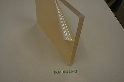 "PLEXIGLASS SHEET ACRYLIC CLEAR 1"" x 8"" x 8"""