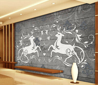 Abstract Planks 3D Full Wall Mural Photo Wallpaper Printing Home Kids Decoration
