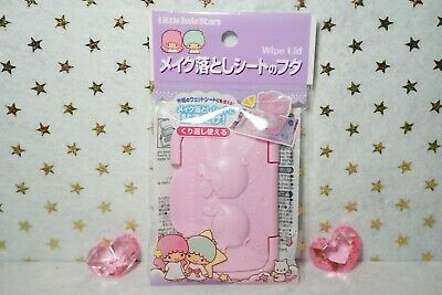 Sanrio Little Twin Stars Wipe Lid from Japan Reusable Wet Tissue Cover Lid Small