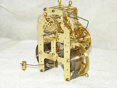 Seth Thomas 3 5/8s antique mantel clock movement. (rescued/rebuilt)