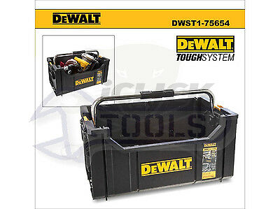 Dewalt DWST1-75654 Toughsystem Tool Open Tote Tool Box Carrier DS280