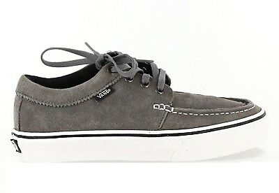 50dda0ab32 Vans 106 MOC Pewter Gray White Suede Skateboarding Discounted (344) Men s  Shoes