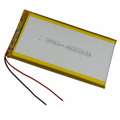 Rechargeable Polymer Li Lipo battery 3.7V 8000 mAh for Tablet PC iPAQ 7565121