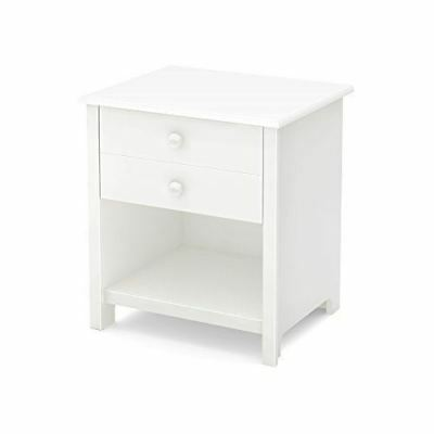 South Shore Little Smileys 1-Drawer Nightstand, White