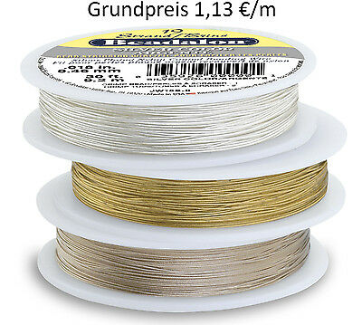 Beadalon Schmuckdraht 19 Strang 1000 ft/305 m Metallic Color Grundpreis 0,98 €/m