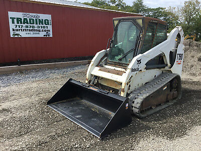 2005 Bobcat T190 Tracked Skid Steer Loader w/ Cab!