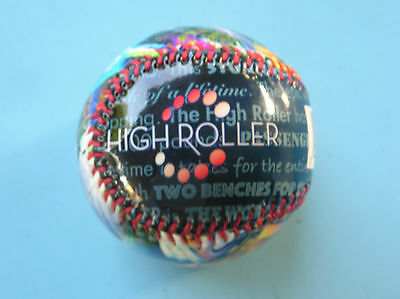 Las Vegas Linq High Roller Observation Wheel Baseball Collectible Souvenir Ball