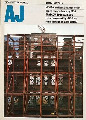 Architects Journal 30 May 90 Glasgow City Of Culture,Gillespie's Vision Thomson