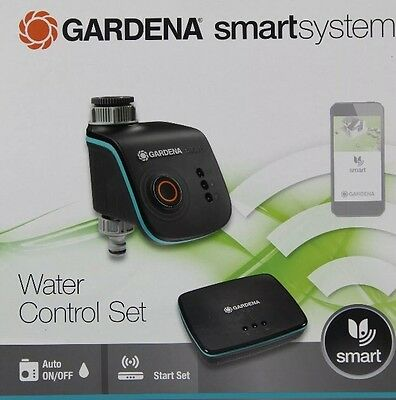 gardena smartsystem water control set 19103 20 per app neu ovp eur 290 00 picclick fr. Black Bedroom Furniture Sets. Home Design Ideas
