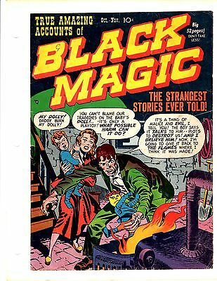 Jack Kirby Joe Simon Black Magic #1...COVER ONLY Artist Picture File
