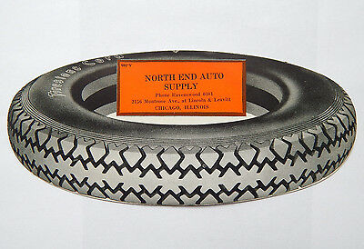 Firestone Tires / North End Auto Supply Chicago Ad Card (1950s)