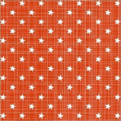 Pack of 20 Multi Star Paper Napkins in Redwith a striking design. 33 x 33cm