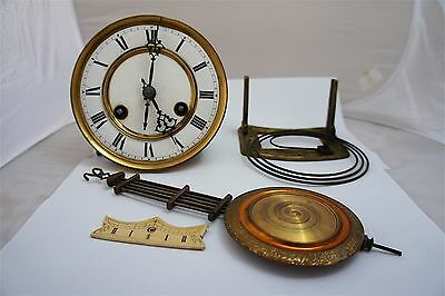 Vienna regulator clock movement 35 c/m in fully working condition
