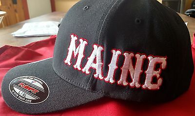 HELLS ANGELS CANAAN MAINE SUPPORT HAT Black
