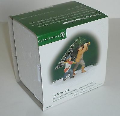 "Dept 56 New England Village Series ""The Perfect Tree"""