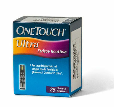 One Touch Ultra 25 Strisce Reattive Lifescan