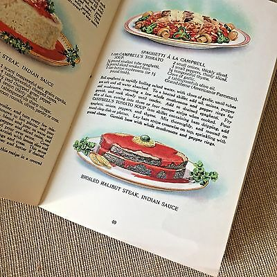 Vintage Cooking Guides Campbell's Soup 1920s 1930s 50s Success in Seasoning 3 pc