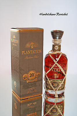Plantation XO Rum Extra Old 20th Anniversary Barbados 40%vol 0,7 Liter (54,86€/L