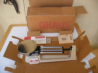 New  O H A U S  Triple Beam Balance Scale  700 Series  2610 Grams