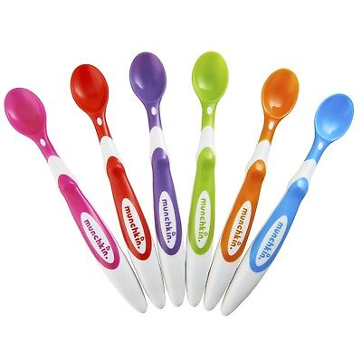 Munchkin Soft-Tip Infant Spoon, 6 Count