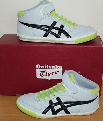 asics onitsuka tiger Kids Aaron trainers MT PS Grey/Black C3C2Y