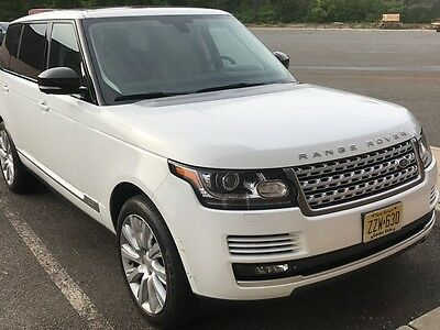 2014 Land Rover Range Rover Supercharged, Long Wheel Base 2014 Range Rover - Supercharged - Long Wheel Base - Sold by Original Owner!