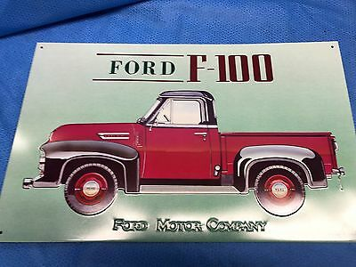 1993 AAA Ford F-100 Ford Motor Company Metal Sign 16 x 9 NOS