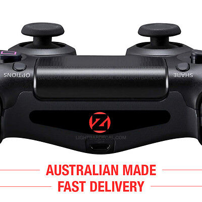Zedd - PlayStation 4 Controller Light Bar Sticker Decal for PS4 Lightbar