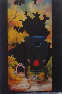 """Cheri Rol vintage tole painting pattern """"Amish Country"""""""