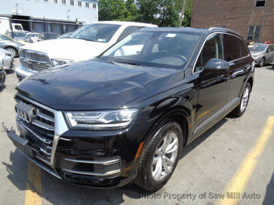 2017 Audi Q7 COLLISION 2017 AUDI Q7 REBUILDABLE REPAIRABLE SALVAGE CLEAR TITLE