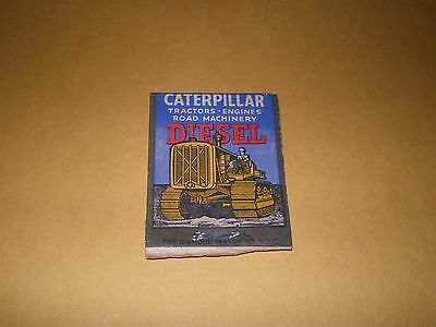 Old Advertising Matchcover Caterpillar Tractor Co. Peoria IL