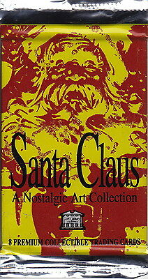 SANTA CLAUS - Nostalgic Art Collection Trading Cards Factory Sealed Packs (29)