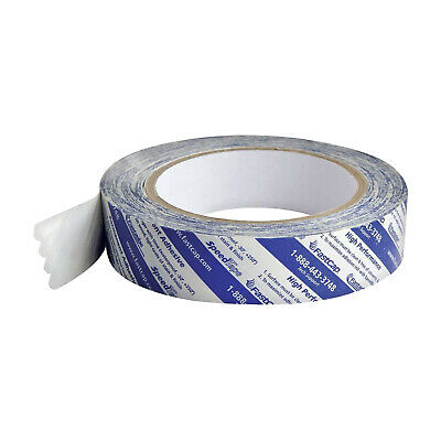 "2 Pack Fastcap Double Sided Strong Adhesive Tape Speedtape 1"" X 50' Long"