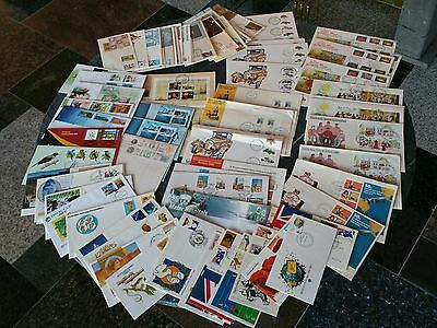 Bulk Lot FDC Envelopes Australia Stamp Cancellation Damaged Stock Duplication