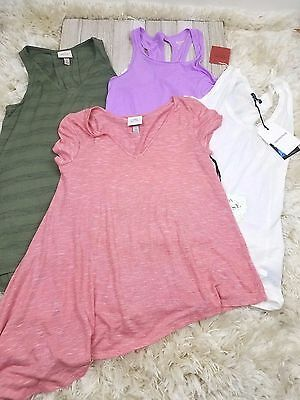 Womens Top XS Lot of 4 New NWT Knox Rose Mossimo Who What Wear Shirts Tank