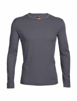 Icebreaker Oasis LS Crewe Merino Wool Thermal Top Mens