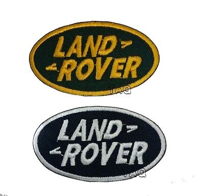 Land Rover Range Rover Embroidered Logo Badge Iron Sew On PATCH CAR SPORTS