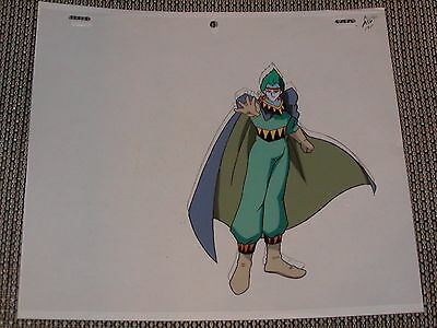 Slayers Next Production Anime Cel - Bad Guy Kanzel + Sketch
