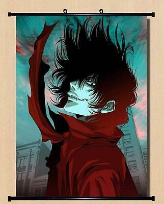 Hellsing Alucard Home Decor Wall poster Scroll  Japanese Anime  40*60cm