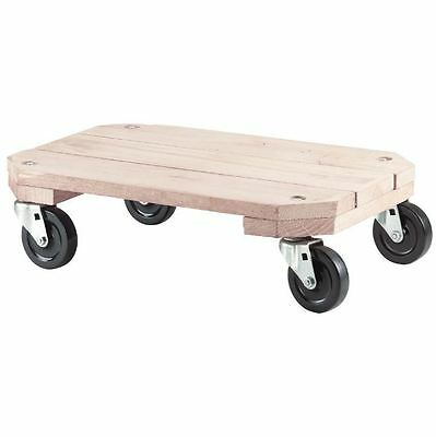 Plant Cart Dolly Solid Wood Platform For Gardening Supplies 360 lb Load Capacity