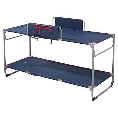 Kathmandu Retreat Dual Use Portable Camping Double Bunk Single Stretcher Beds