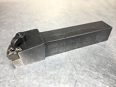 "Seco MWLNR-12-3B Indexable Turning Tool Holder, 3/4"" Sq Shank"