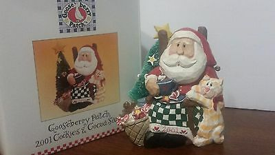 Midwest of Cannon Falls Gooseberry Patch Eddie Walker 2001 COOKIES & COCOA SANTA