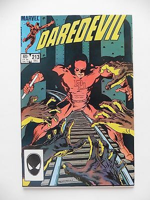Daredevil #213 VF  (Dec 1984, Marvel)